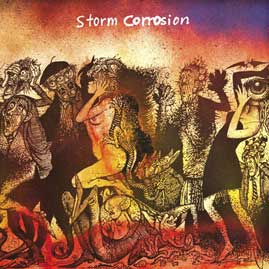 STORM CORROSION - BLUE RAY+CD