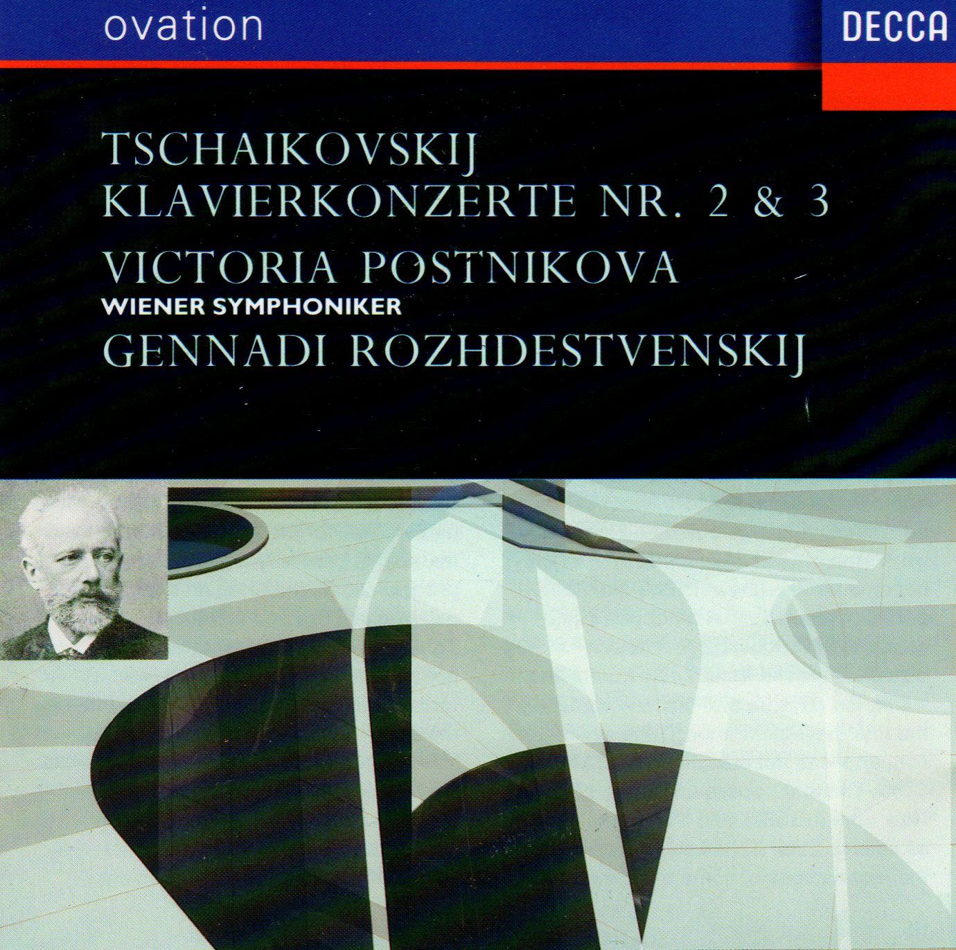 TCHAIKOVSKY PIANO CONCERTOS 2 & 3