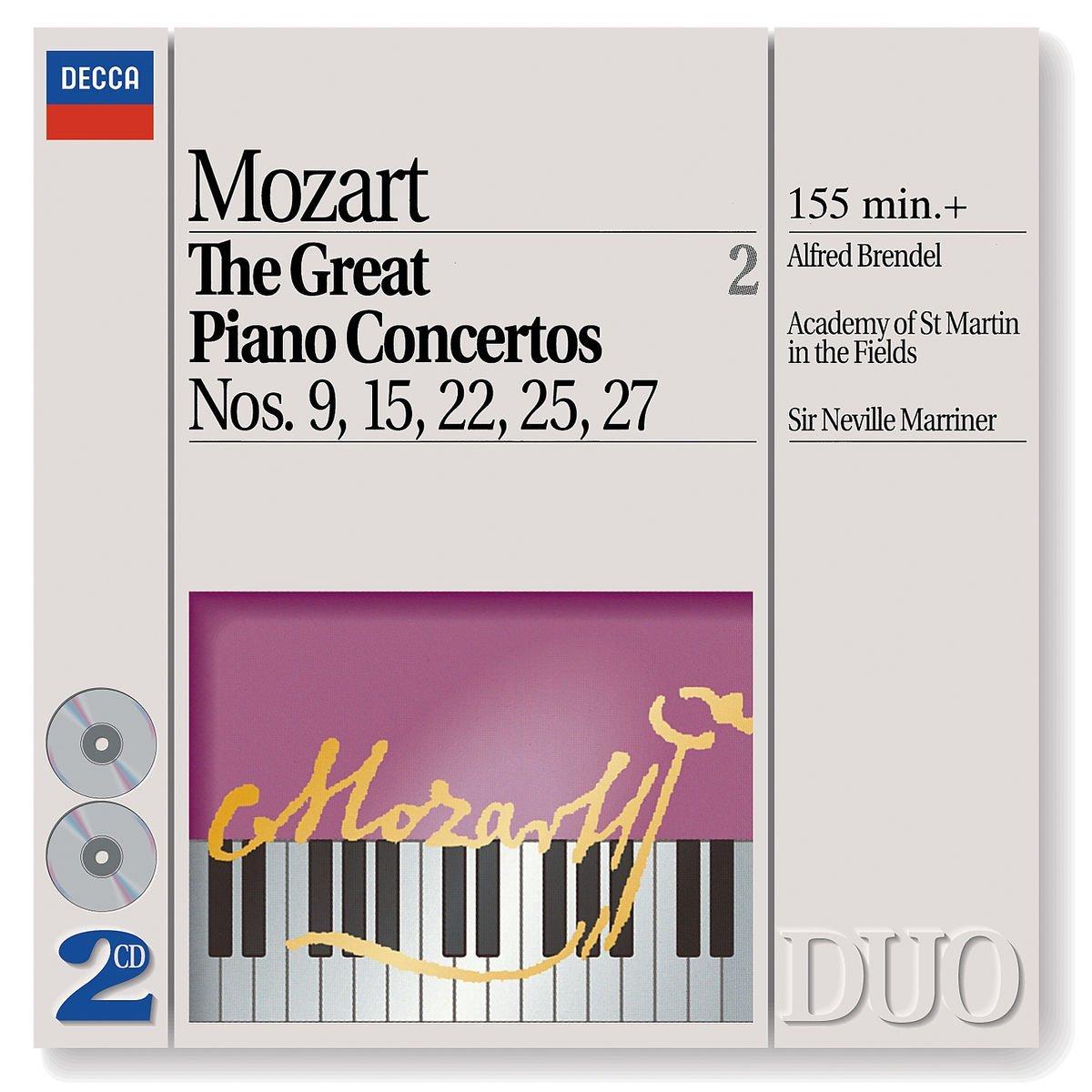 THE GREAT PIANO CONCERTOS NOS 9 15 22 25 27