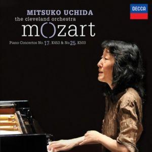 PIANO CONCERTOS 17 Y 25/UCHIDA