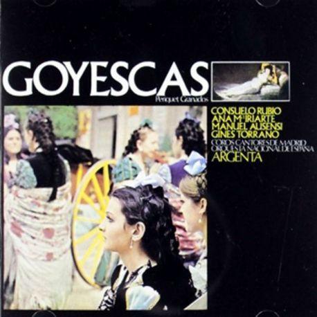 GOYESCAS-ARGENTA/RUBIO,IRIARTE,AUSENSI