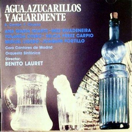 AGUA AZUCARILLOS Y AGUARDIENTE