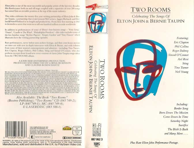 TWO ROOMS -VHS-