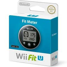 Wii U FIT METER NEGRO U