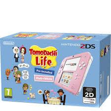 CONSOLA 2DS ROSA + TOMODACHI LIFE