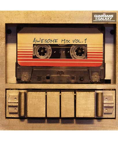 GUARDIANS OF THE GALAXY AWESOME MIX VOL 1 -VINILO-