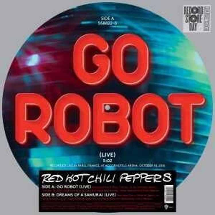 GO ROBOT -PICTURE 2 TRACKS 12´´ RSD 2017-