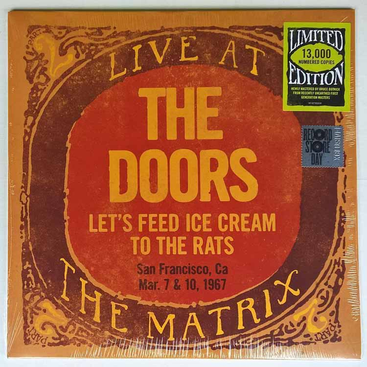 LIVE AT THE MATRIX PART 2 SAN FRANCISCO MAR 7 & 10 1967 -RSD 2018-