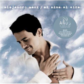 EL ALMA AL AIRE -LTD 20 AÑOS 2CD + VINILO PICTURE +LIBRO +LAMINA-