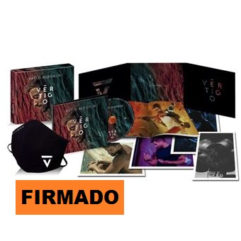 VERTIGO -FIRMADO LTD BOX +MASCARILLA +POSTALES-