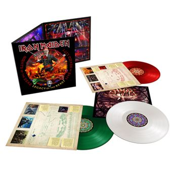 LEGACY OF THE BEAST -VINILO COLOR-LIVE IN MEXICO CITY