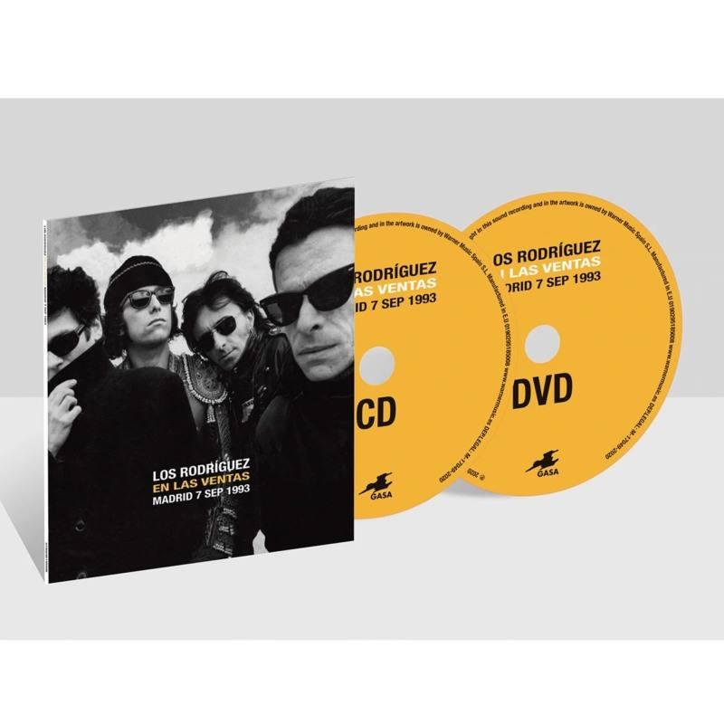 EN LAS VENTAS MADRID 7 SEP 1993 -CD + DVD-
