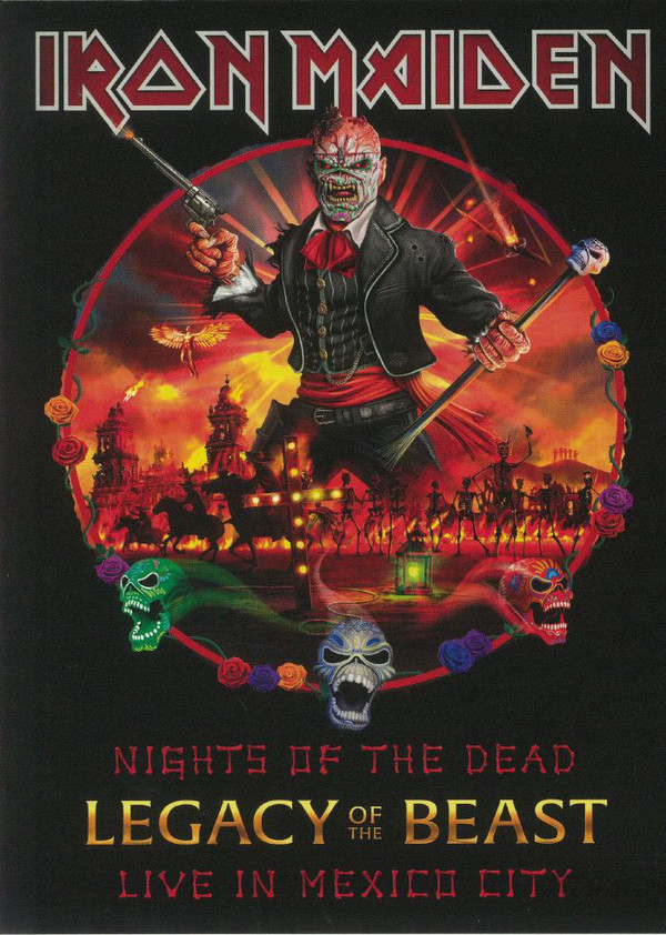NIGHTS OF THE DEAD LEGACY OF THE BEAST LIVE IN MEXICO CITY -2CD DELUXE-