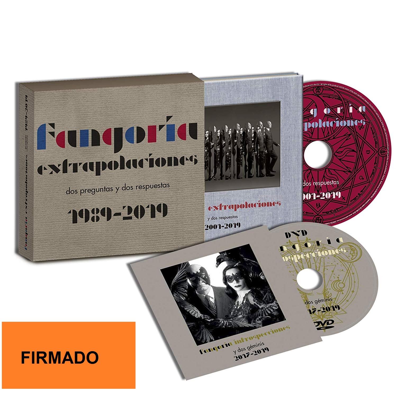 EXTRAPOLACIONES DOS PREGUNTAS Y DOS RESPUESTAS 1989 2019 -BOX FIRMADO +LIBRO +DVD-
