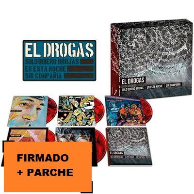 SOLO QUIERO BRUJAS EN ESTA NOCHE SIN COMPAÑIA -5CD FIRMADO + PARCHE-