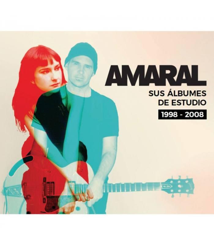SUS ALBUMES DE ESTUDIO 1998 2008 -6CD BOX-