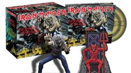 THE NUMBER OF THE BEAST -LTD + FIGURE + PATCH-