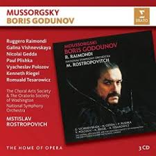 BORIS GODUNOV - 3 CD