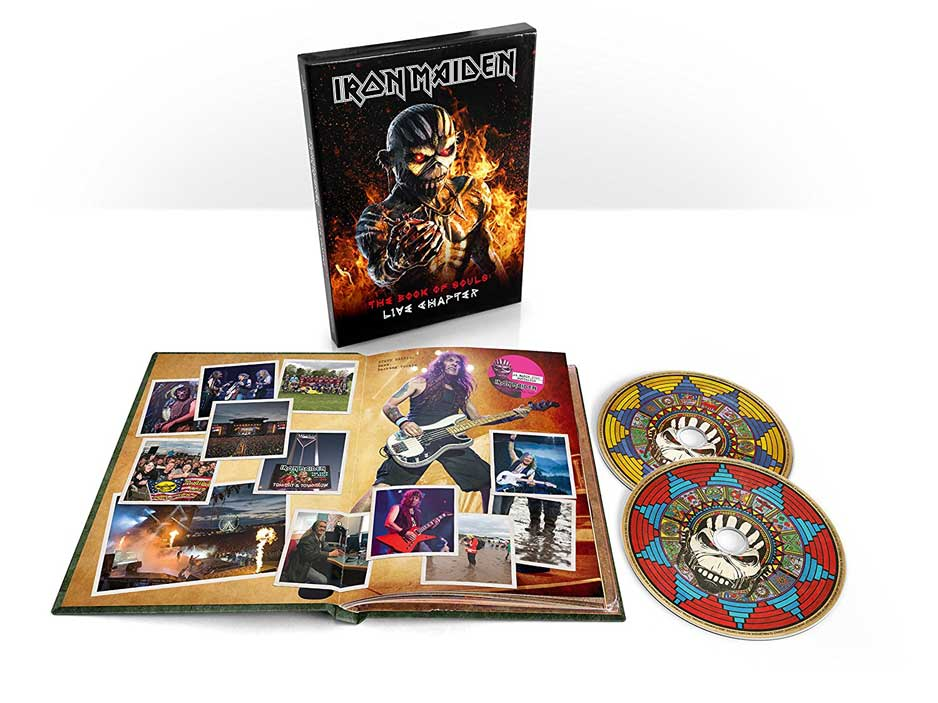 THE BOOK OF SOULS LIVE CHAPTER -LTD-