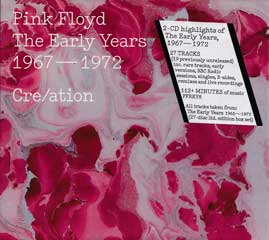 THE EARLY YEARS 1967-1972 CRE/ATION (2CD)