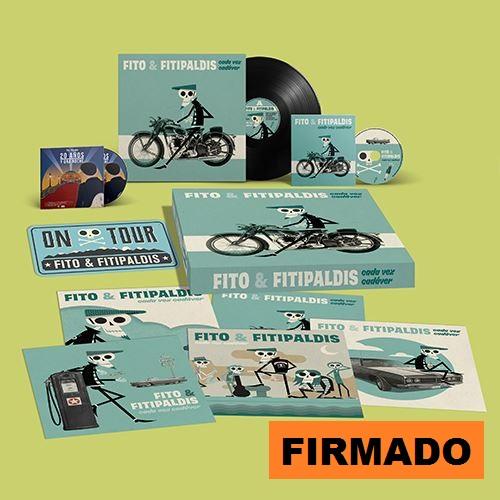 CADA VEZ CADAVER -LTD BOX VINILO FIRMADO +CD +DVD +LAMINAS +MATRICULA-