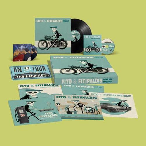 CADA VEZ CADAVER -LTD BOX VINILO  +CD +DVD +LAMINAS +MATRICULA-