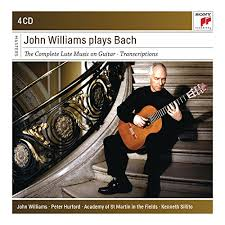 JOHN WILLIAMS PLAYS BACH. SONY CLASSCIAL MASTERS
