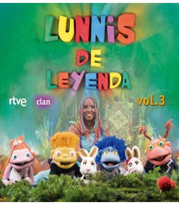 LUNNIS DE LEYENDA VOL 3 -CD + DVD-