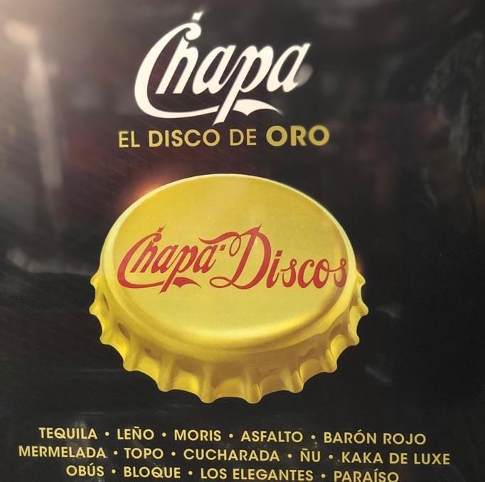 CHAPA EL DISCO DE ORO -VINILO-