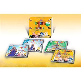 LOS LUNNIS DE LEYENDA 1 2 3 Y 4 -BOX 4CD + 4DVD-