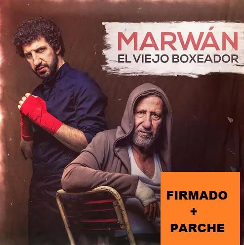 EL VIEJO BOXEADOR -CD FIRMADO + PARCHE-