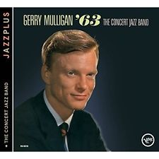 """CD GERRY MULLIGAN """"THE CONCERT JAZZ BAND´63"""".New and sealed"""
