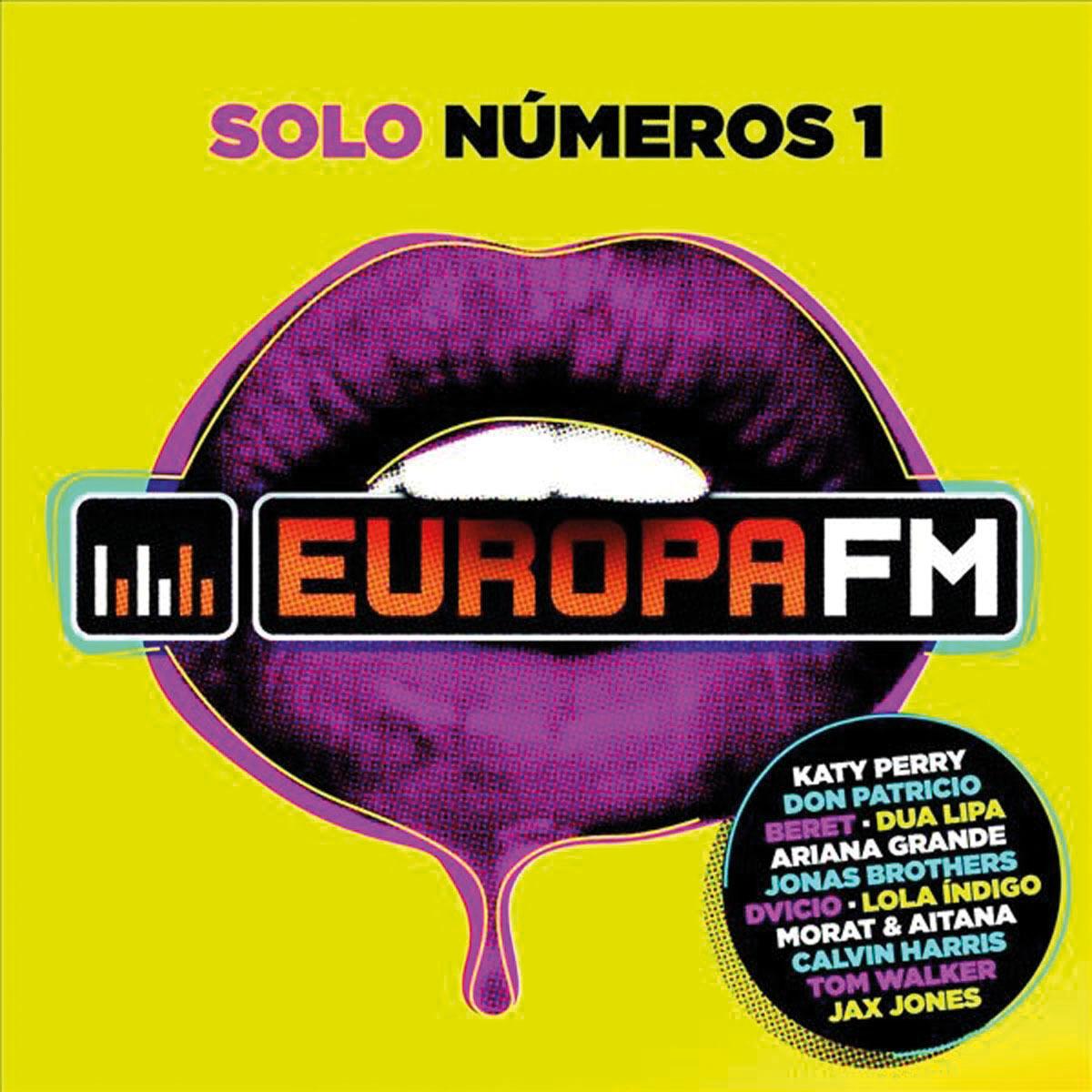 EUROPA FM SOLO NUMEROS 1