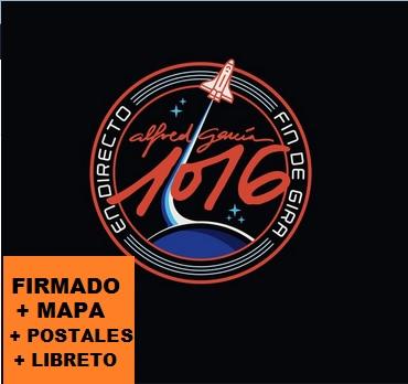 1016 EN DIRECTO FIN DE GIRA -FIRMADO 2CD + DVD +MAPA +6 POSTALES +LIBRETO-