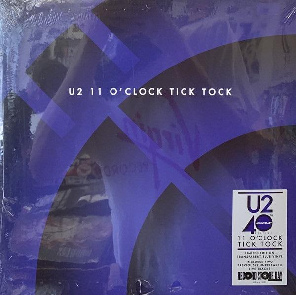11 O´CLOCK TICK TOCK -VINILO AZUL TRANSPARENTE RSD 2020-