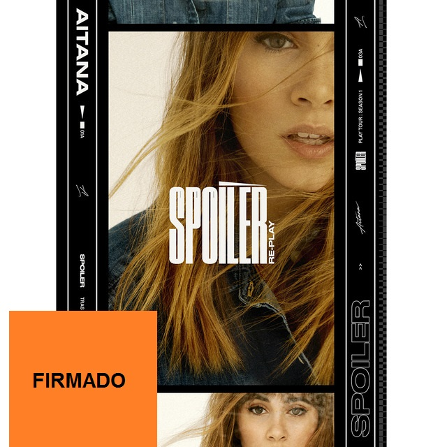 SPOILER RE-PLAY -FIRMADO CD + DVD-