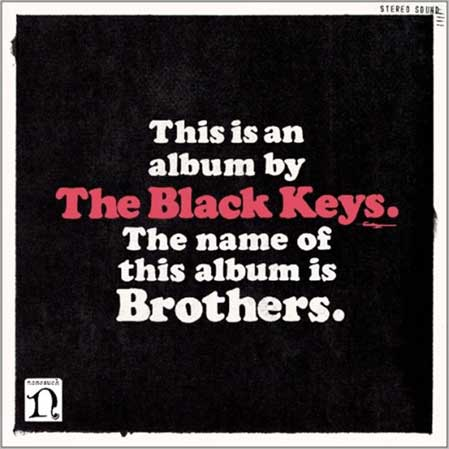 THE NAME OF THIS ALBUM IS BROTHERS