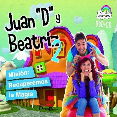 MISION RECUPEREMOS LA MAGIA -CD +DVD-
