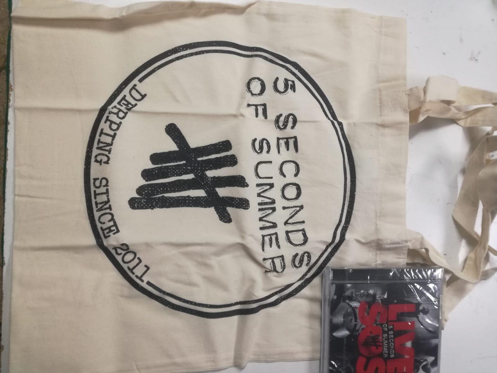 LIVE SOS -LTD + TOTE BAG-