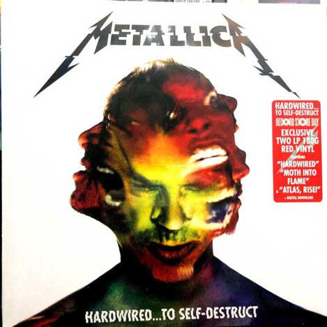 HARDWIRED -RSD EXCLUSIVE RED VINYL-