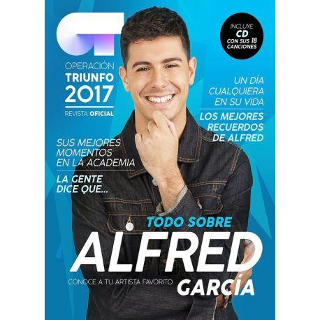 OPERACION TRIUNFO 2017 ALFRED REVISTA + CD