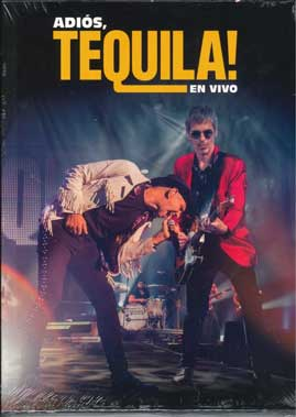 ADIOS TEQUILA EN VIVO -2CD + DVD-