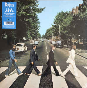 ABBEY ROAD -VINILO ANNIVERSARY EDITION-