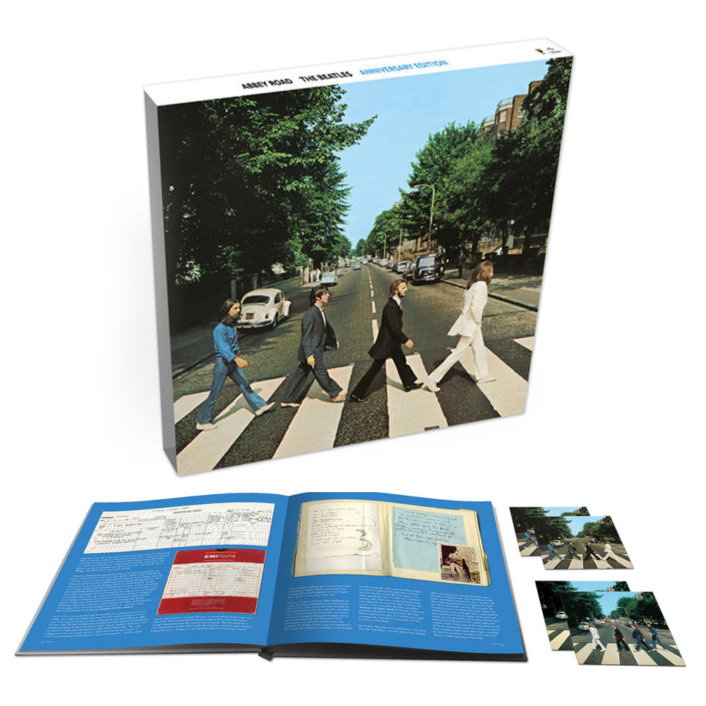 ABBEY ROAD -ANNIVERSARY EDITION 3CD + BR BOX-