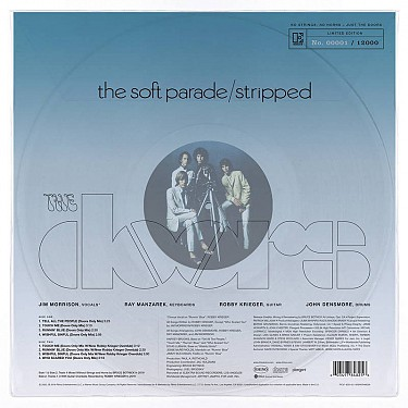 THE SOFT PARADE / STRIPPED -CLEAR VINYL RSD 2020-