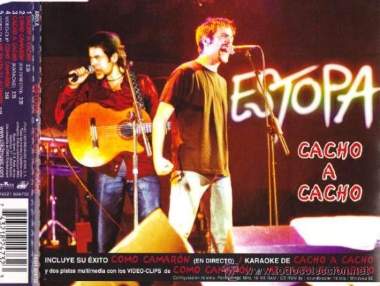CACHO A CACHO -CD SG 4TK-