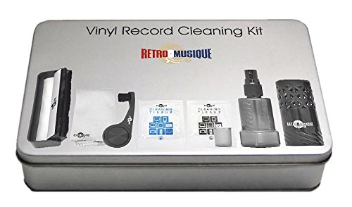 VINYL RECORD CLEANING KIT -RETRO MUSIQUE-