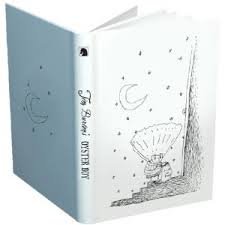 TIM BURTON OYSTER BOY Light-up JOURNAL
