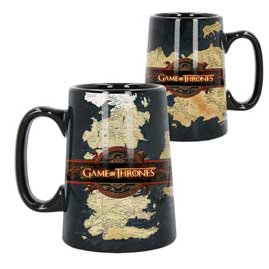 TAZA GRANDE GAME OF THE THRONES -MAPA-