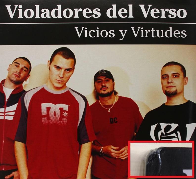 VIVIOS Y VIRTUDES -VINILO **** ESQUINA DAÑADA-